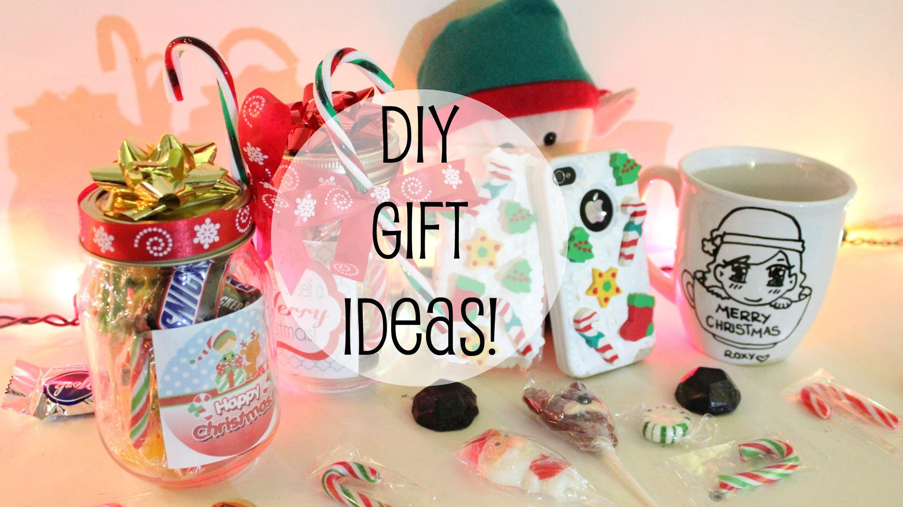 Cute Diy Christmas Gifts Friends Pixshark