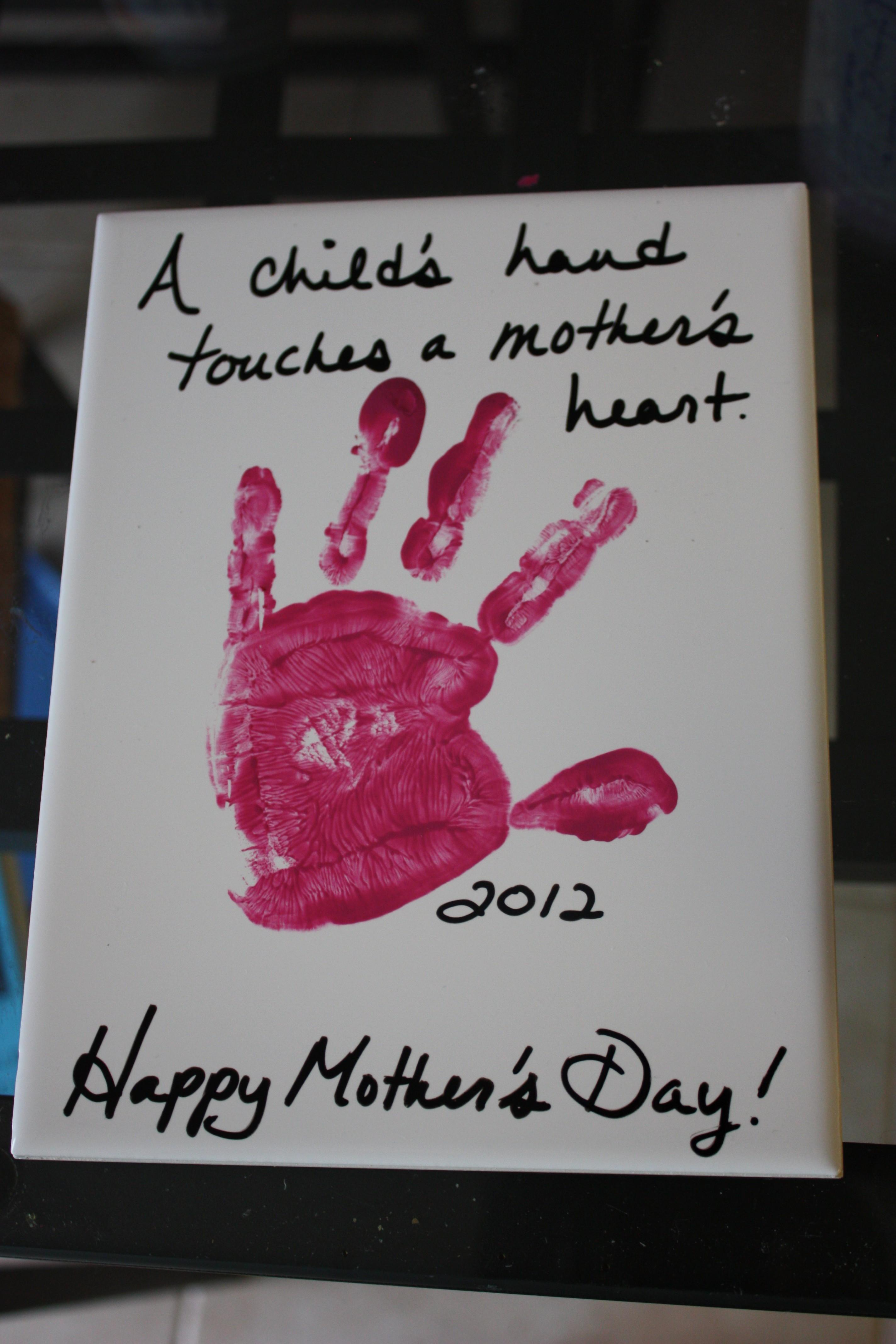Cute Diy Crafts Mother Day