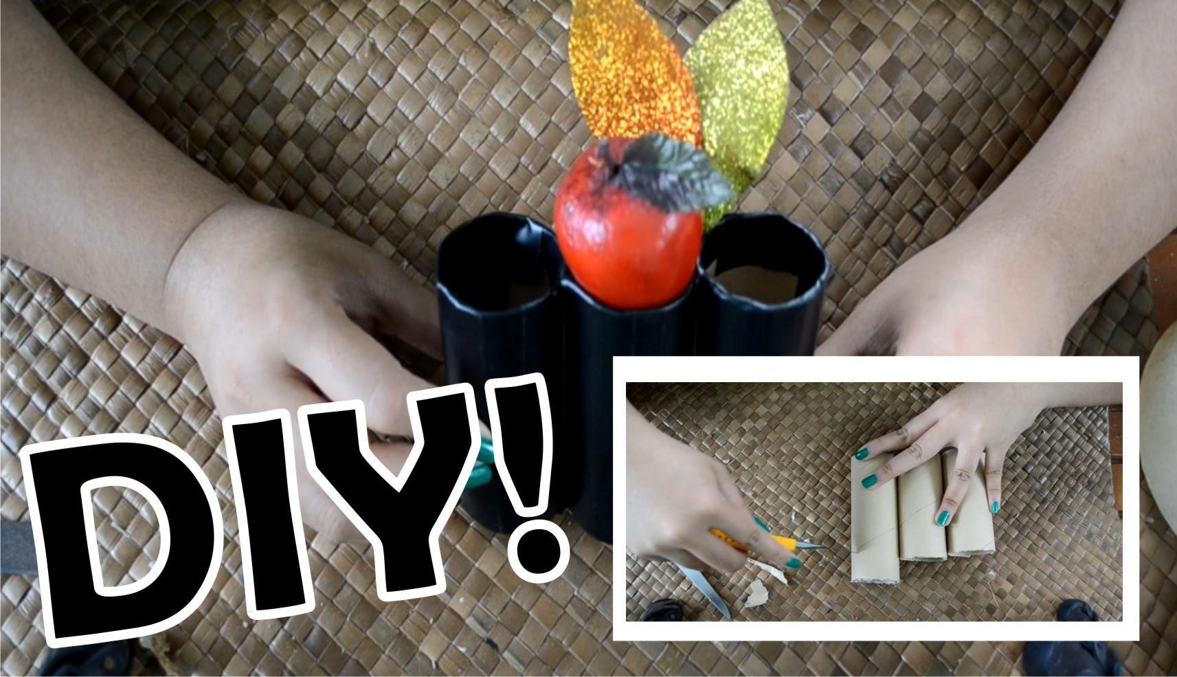 Cute Diy Fall Inspired Pencil Holder Easy Fast Recycled