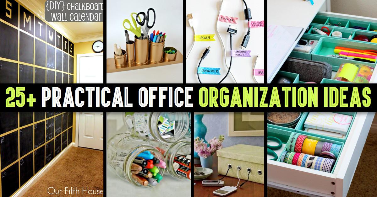 Cute Diy Projects Practical Office Organization
