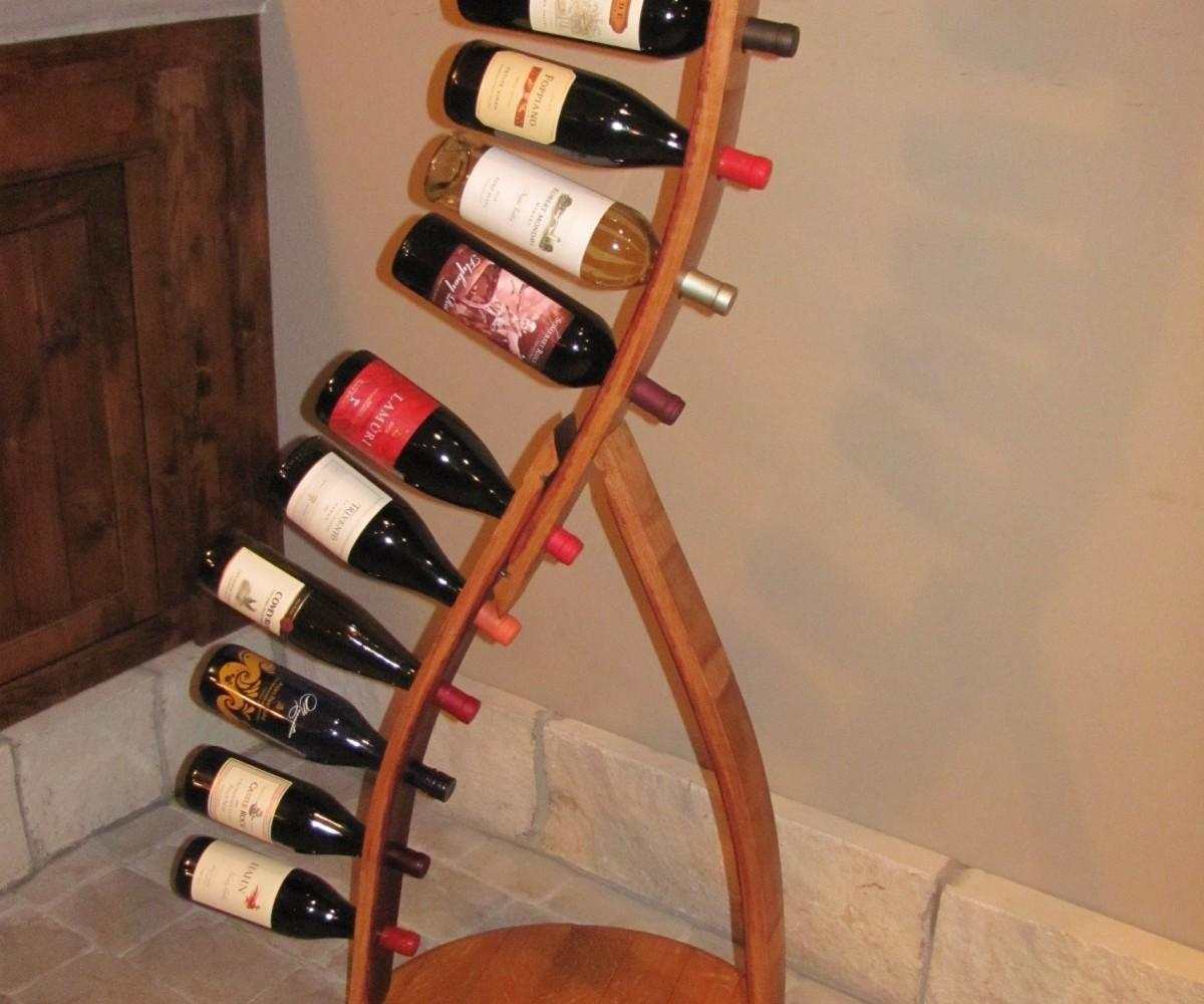 Cute Diy Projects Recycled Wine Barrel Wood