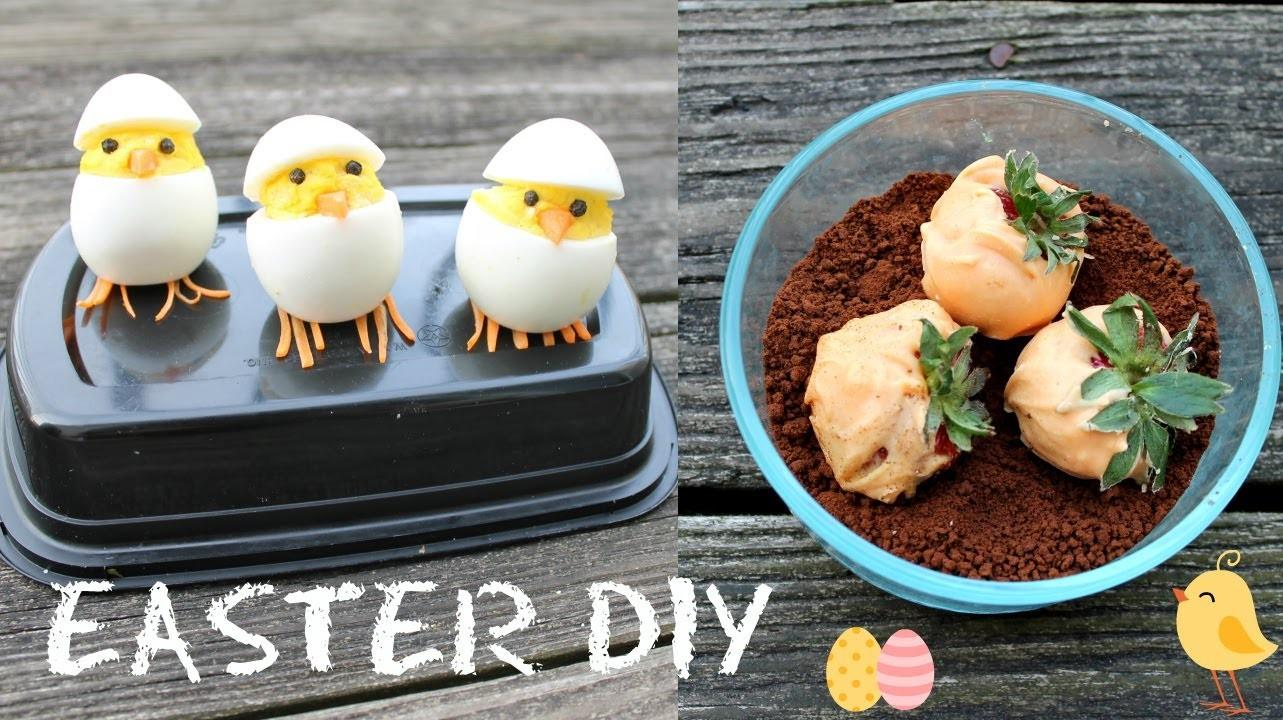 Cute Diy Treats Hatching Chicks Carrot Garden Dirt