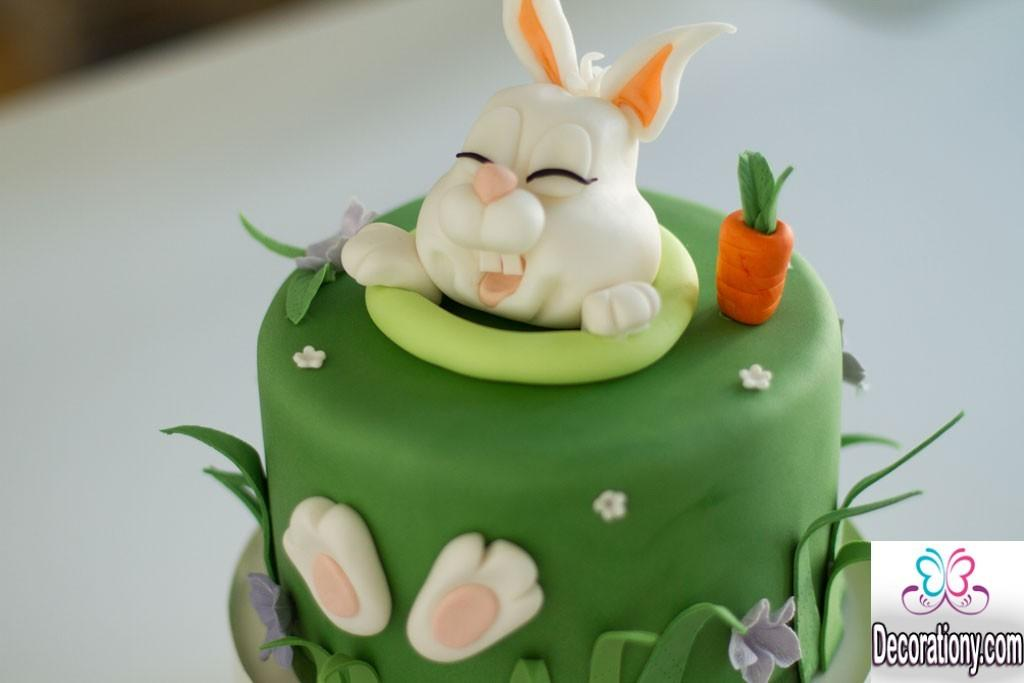 Cute Easter Bunny Cake Decorating Ideas Decorationy