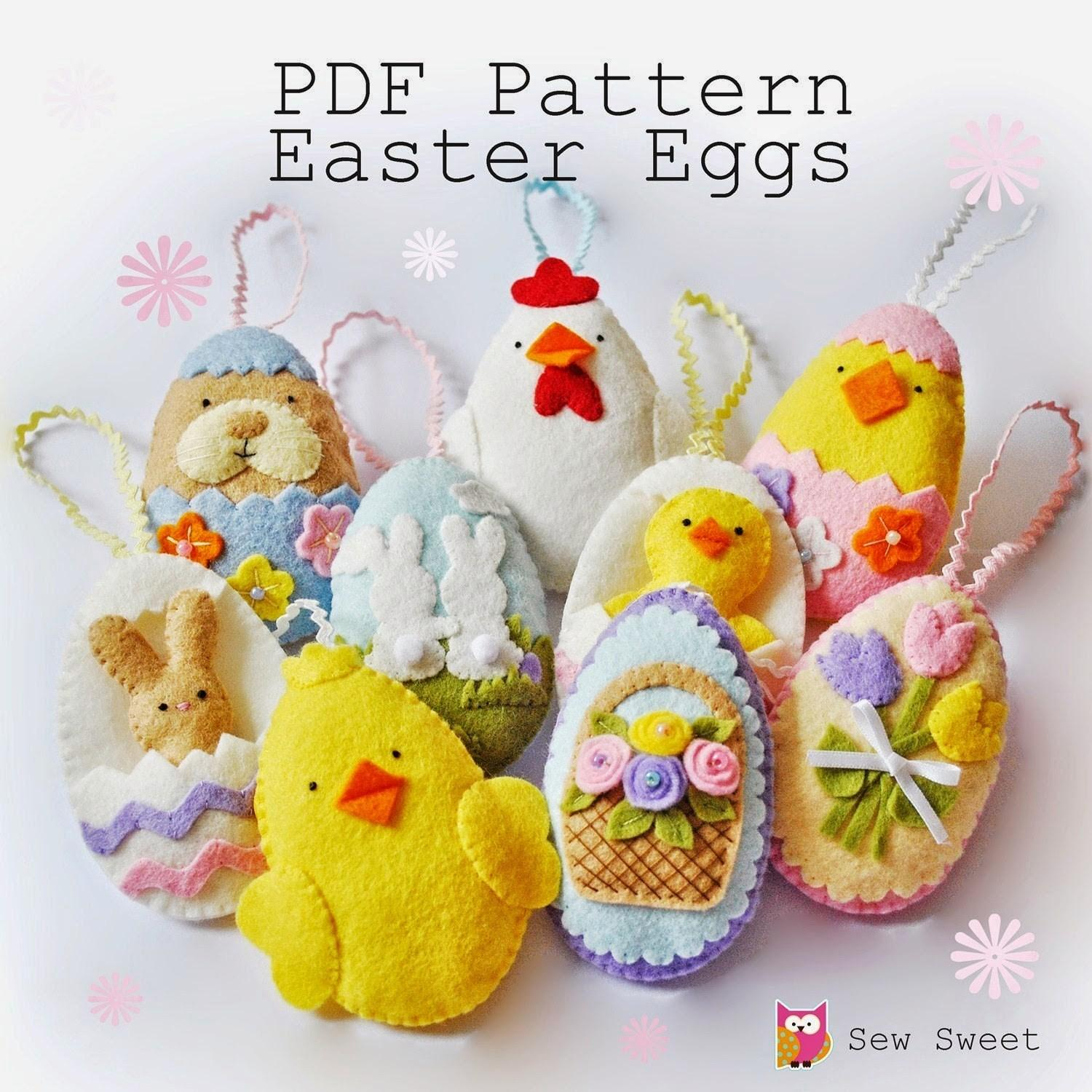 Cute Easter Sewing Projects Sew New Blog