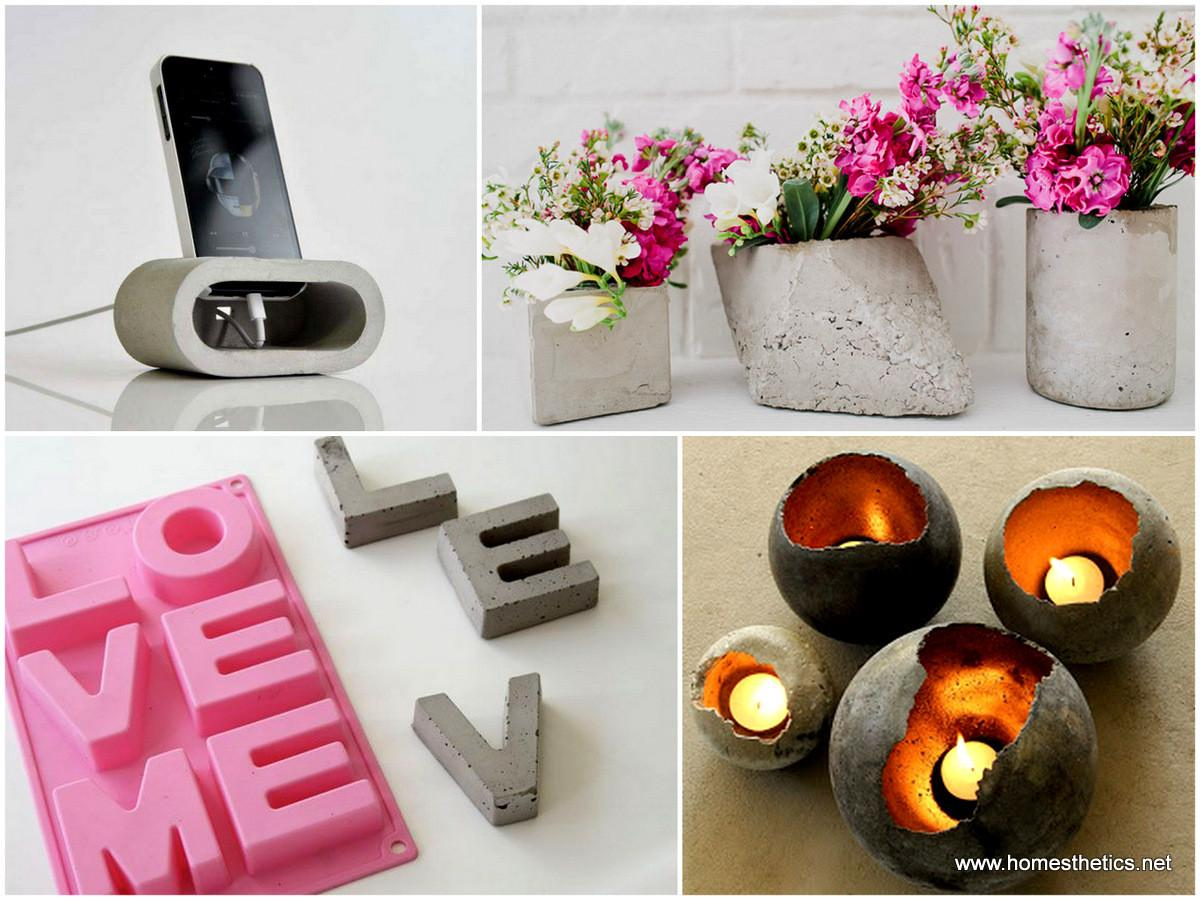 Cute Easy Fun Diy Cement Projects Your Home