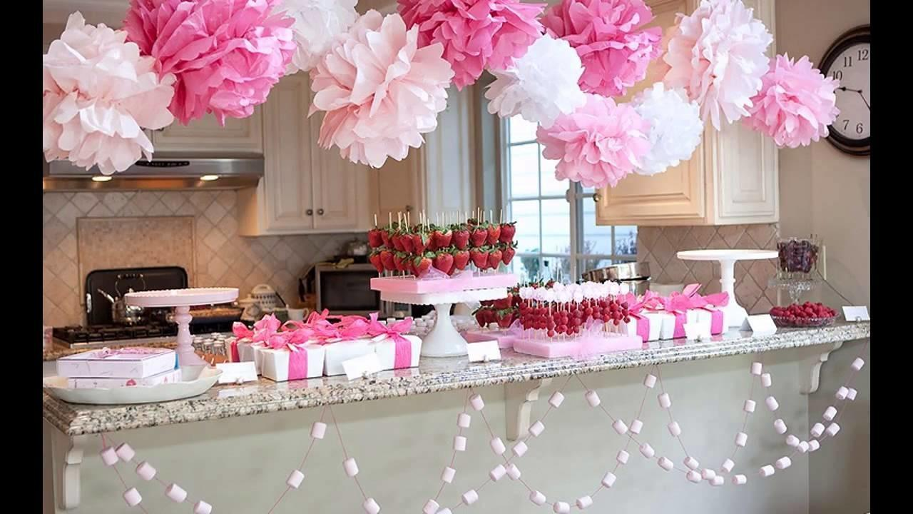 Cute Girl Baby Shower Decorations