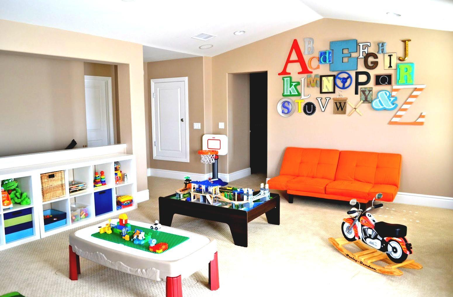Cute Kids Basement Design Ideas Cool Playground Area