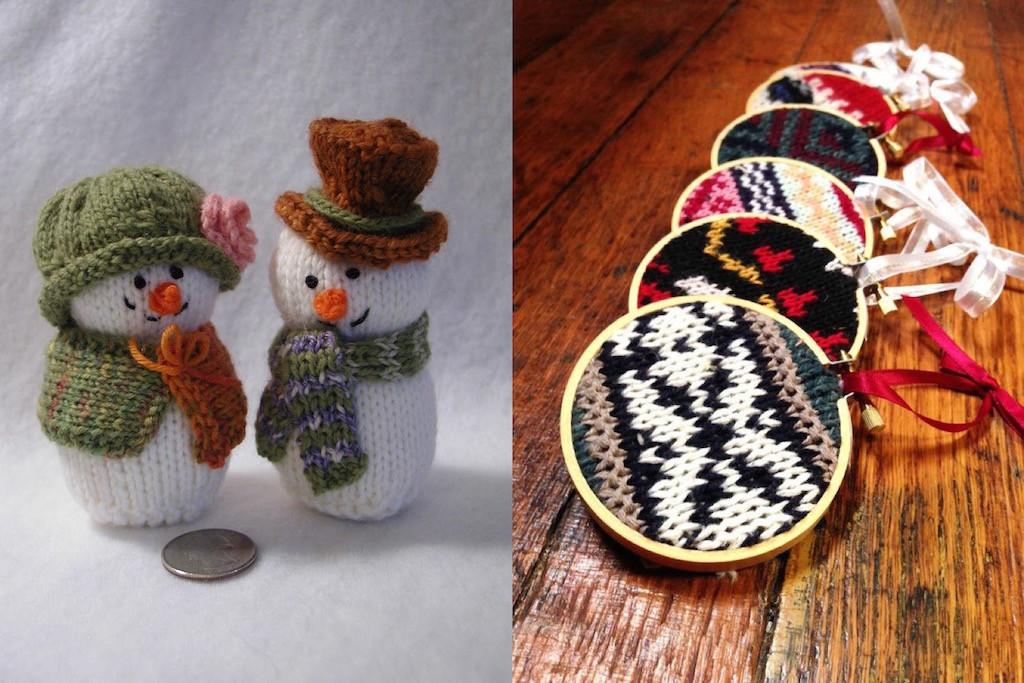 Cute Knitted Christmas Decorations Ideas Feed Inspiration