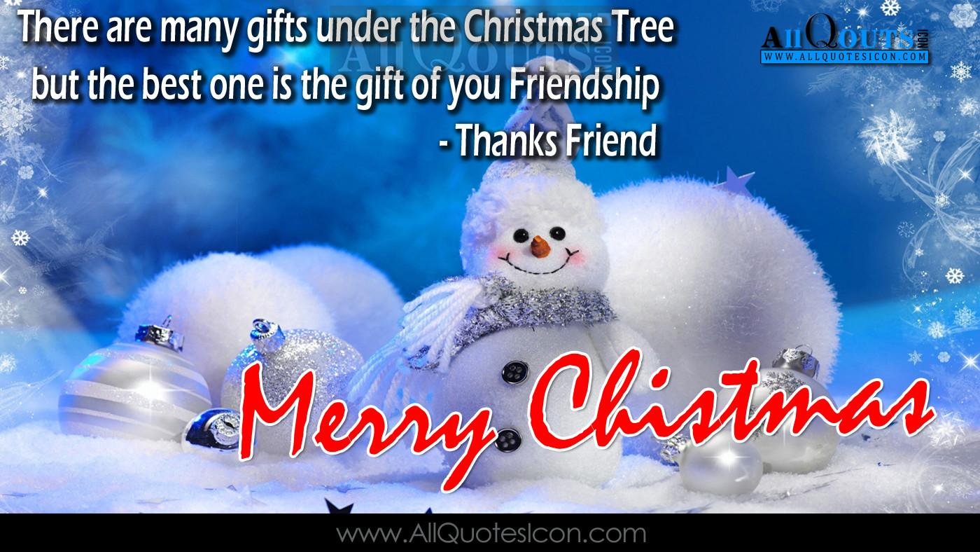 Cute Merry Christmas Quote Happy Friends Quotes