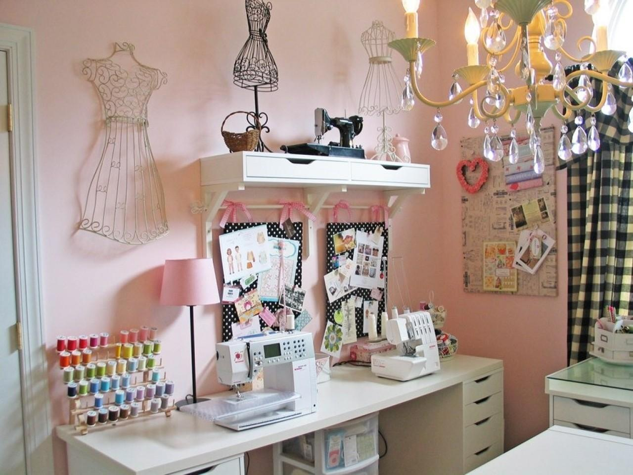 Cute Small Room Ideas Sewing
