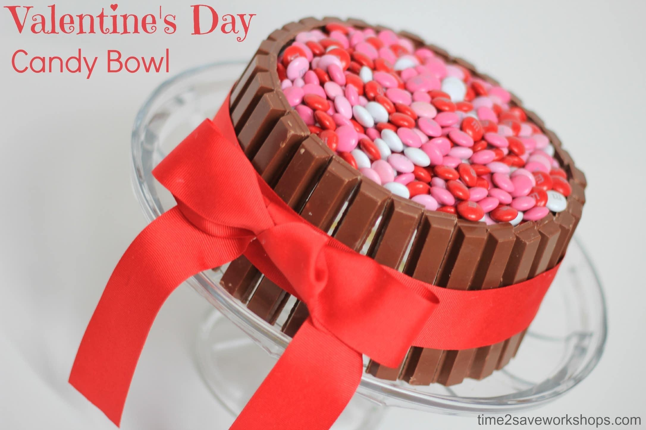 Cute Valentine Day Ideas Diy Candy Bowl Kasey Trenum