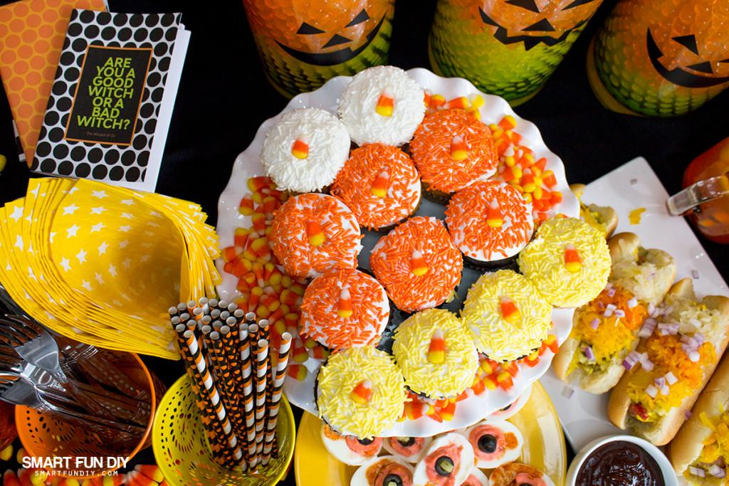 Cutest Halloween Candy Corn Party Ideas