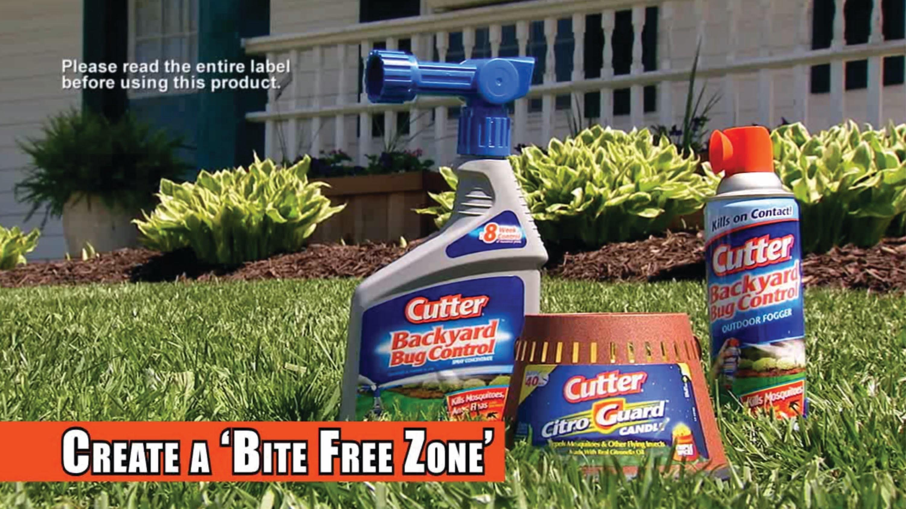 Cutter Insect Repellent Backyard Bug Control Products