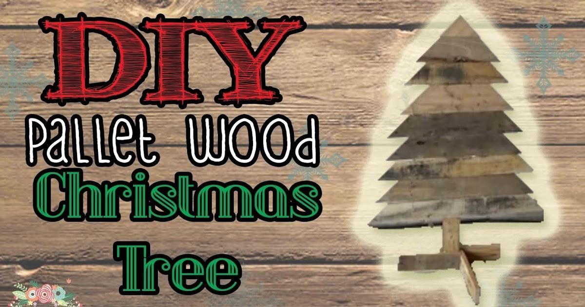 Daily Diyer Pallet Wood Christmas Tree