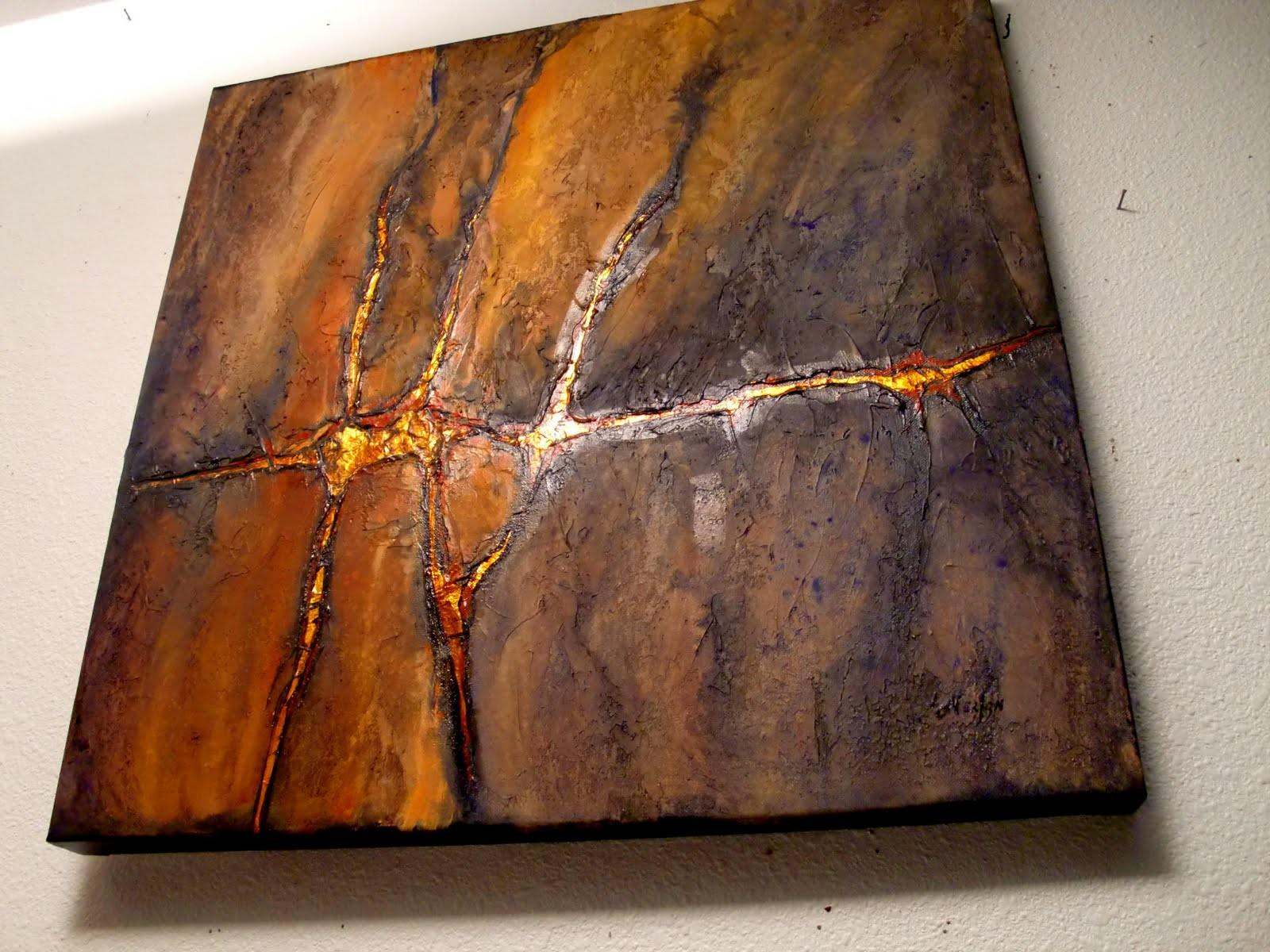 Daily Painters Colorado Gold Vein Textured