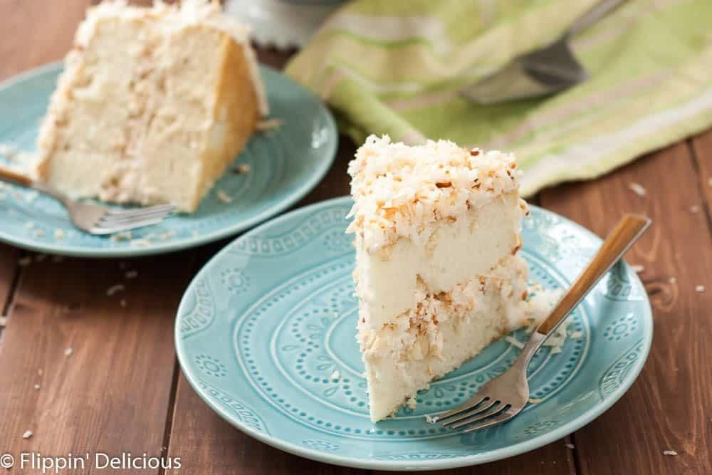 Dairy Gluten Coconut Layer Cake