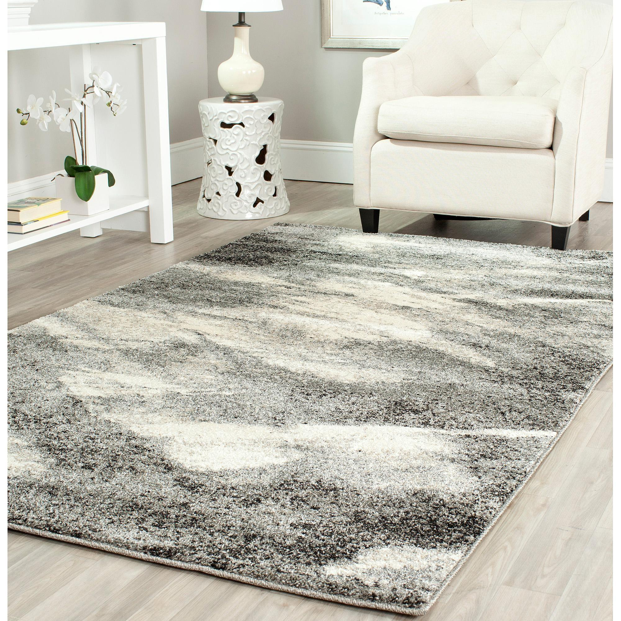 Damask Area Rug Black White Roselawnlutheran