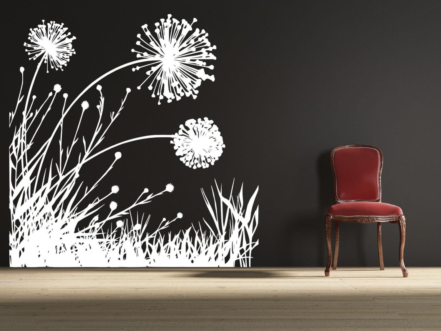 Dandelion Field Uber Decals Wall Decal Vinyl Decor Art