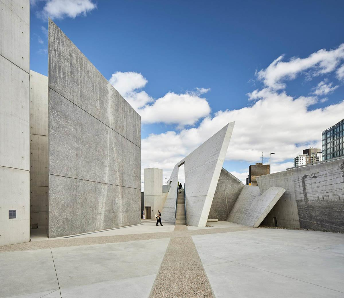 Daniel Libeskind Holocaust Monument Features Fragmented