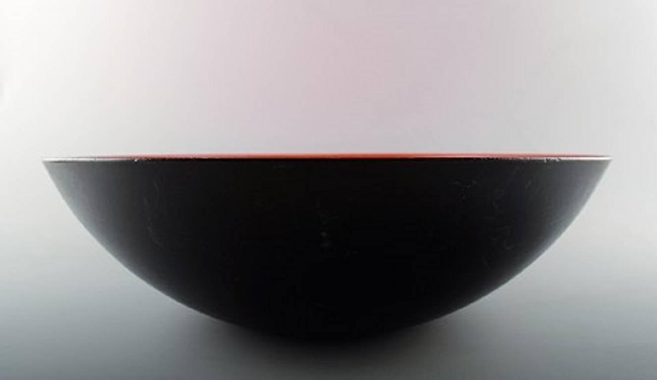 Danish Design Large Krenit Fruit Bowl Herbert Krenchel