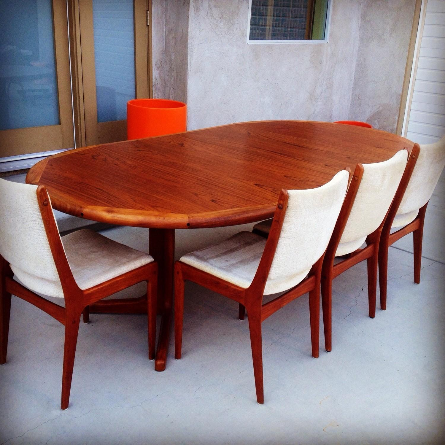 Danish Modern Dining Room Set Best 2017 Retro