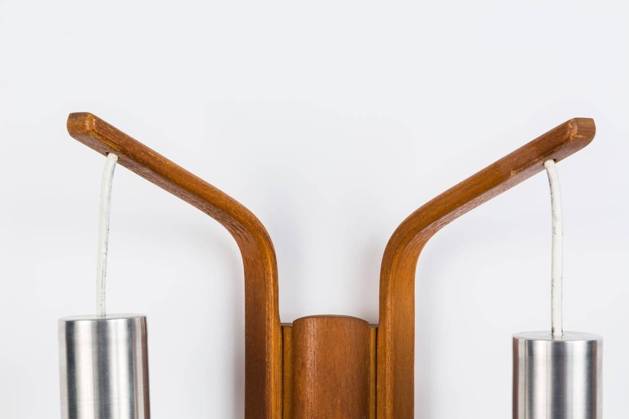 Danish Modern Double Cone Wall Light 1stdibs