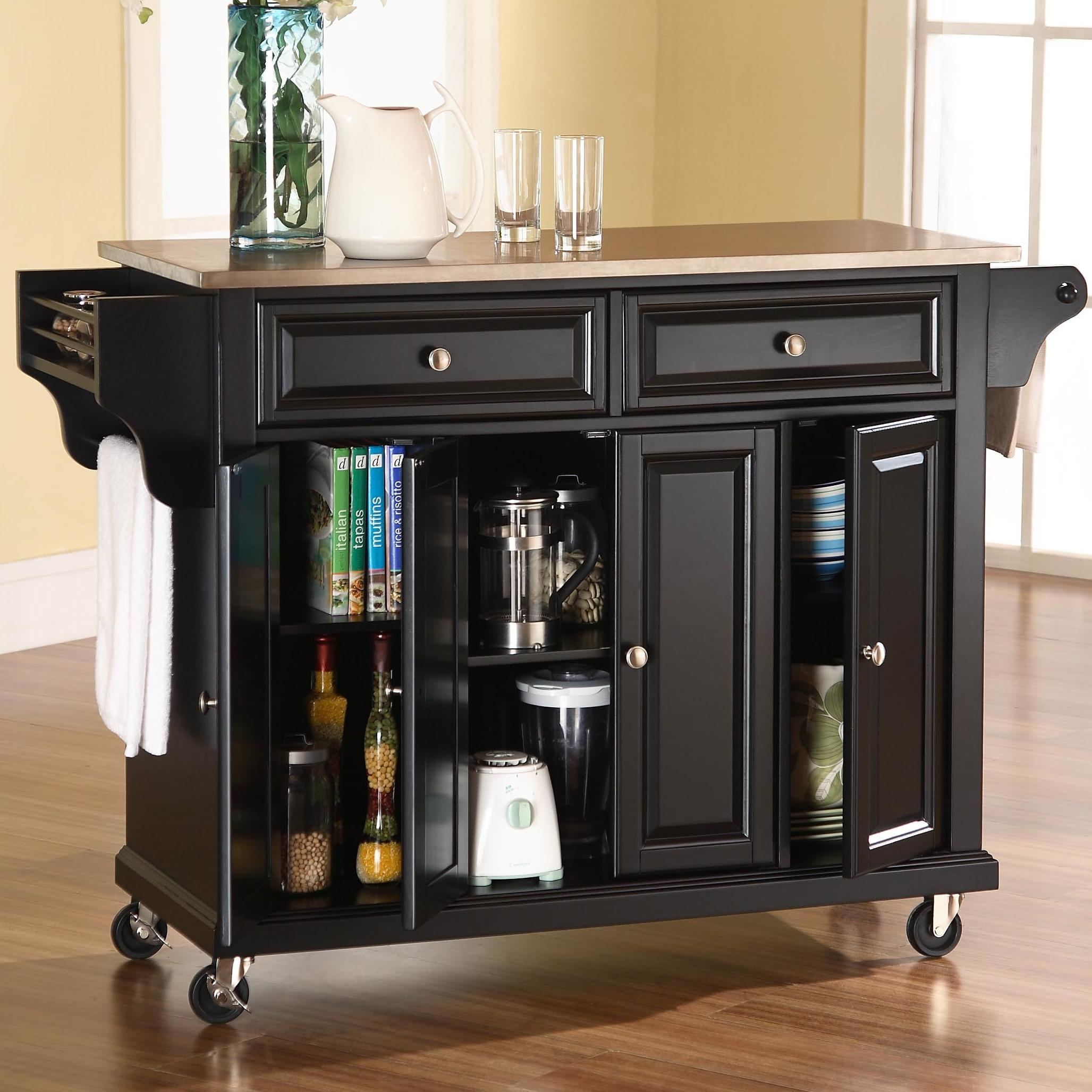 Darby Home Pottstown Kitchen Island Stainless