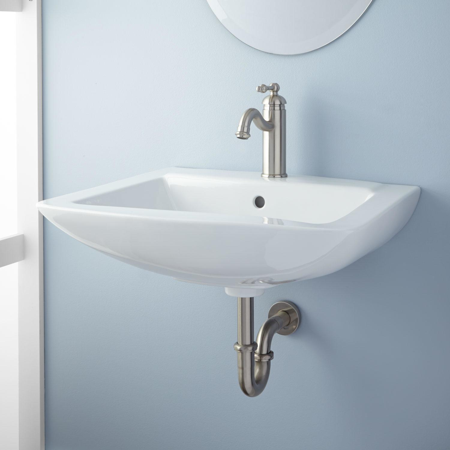 Darby Wall Mount Bathroom Sink