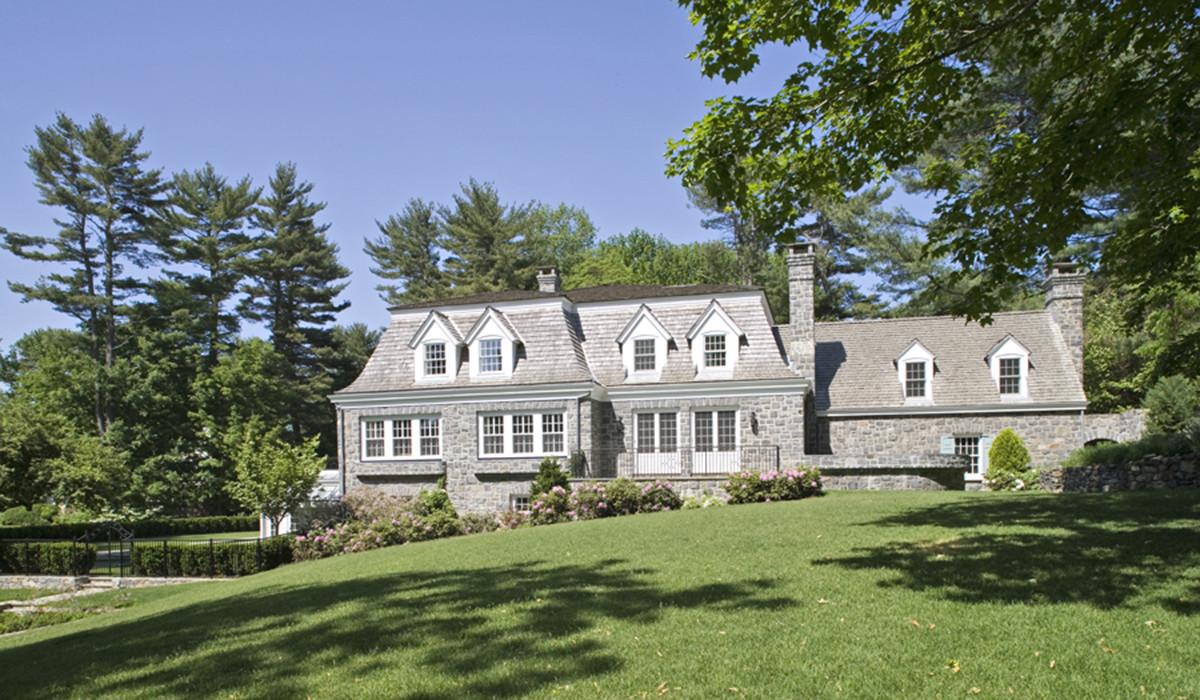 Darien Connecticut Residential Stone House Renovation