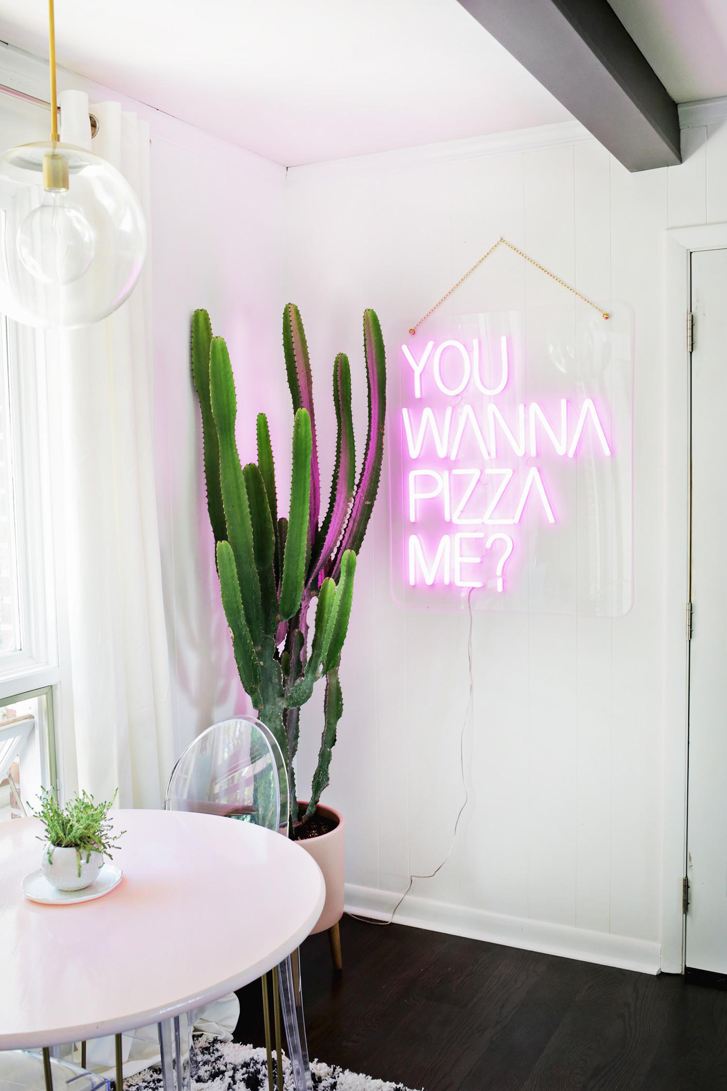 Daring Home Decor Neon Lights Every Room