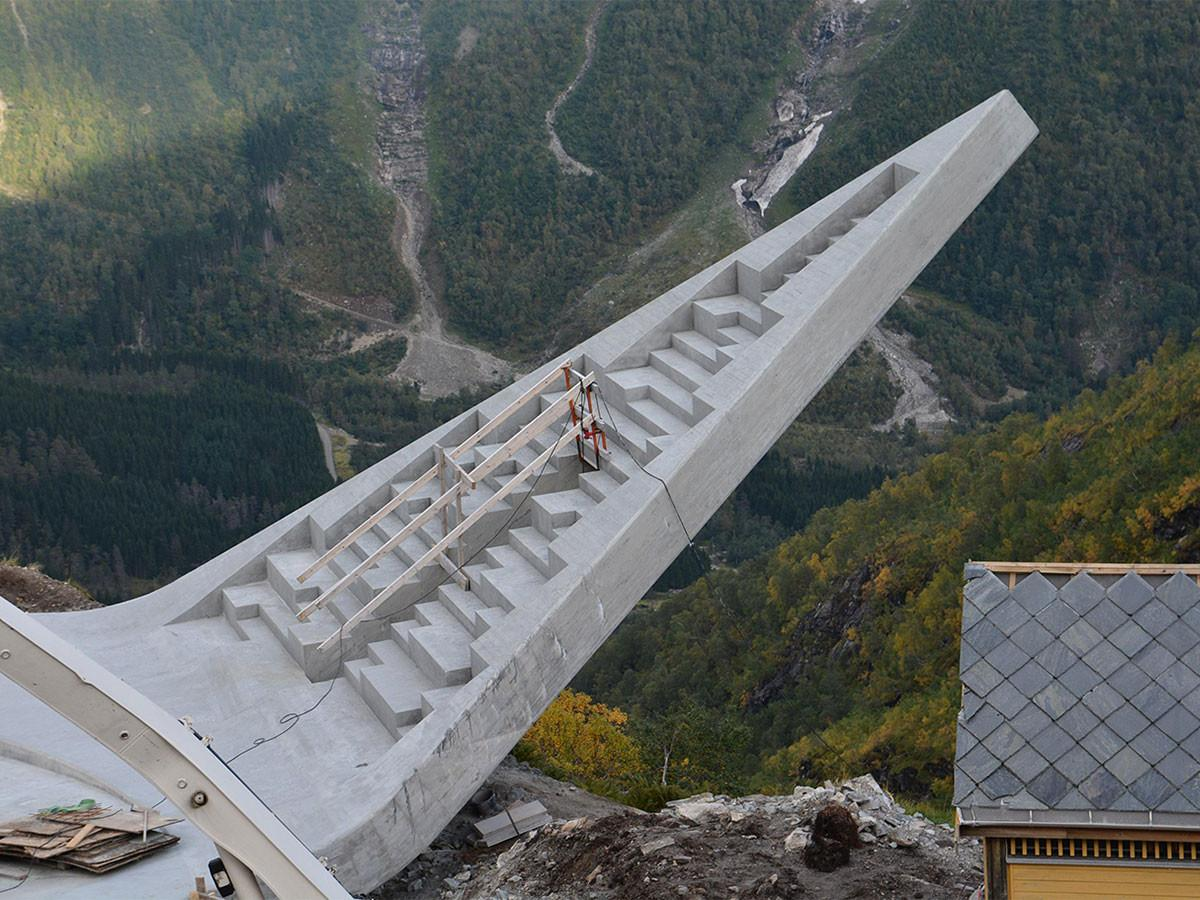 Daring New Lookout Norway National Tourist Route