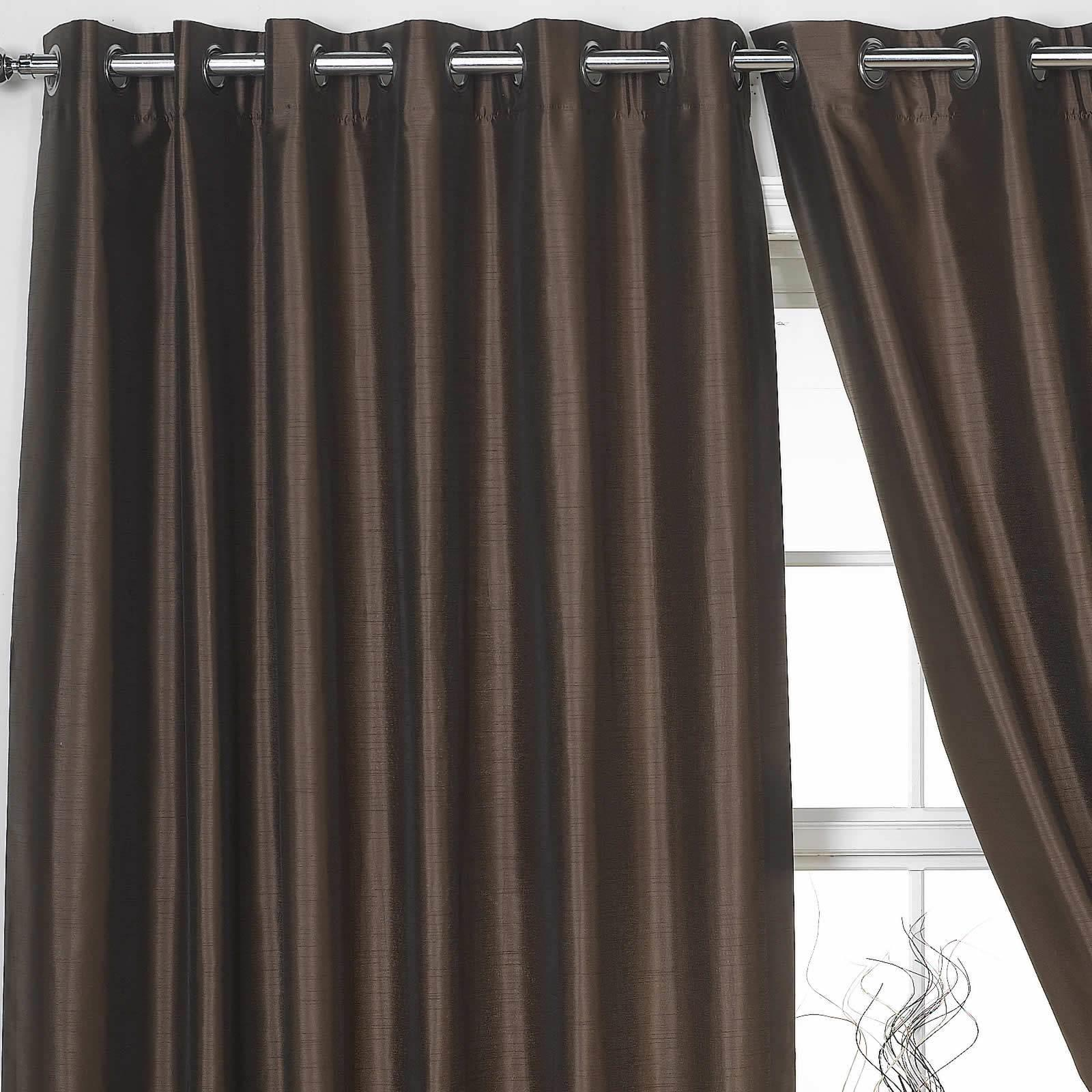Dark Bamboo Ring Curtain Menzilperde