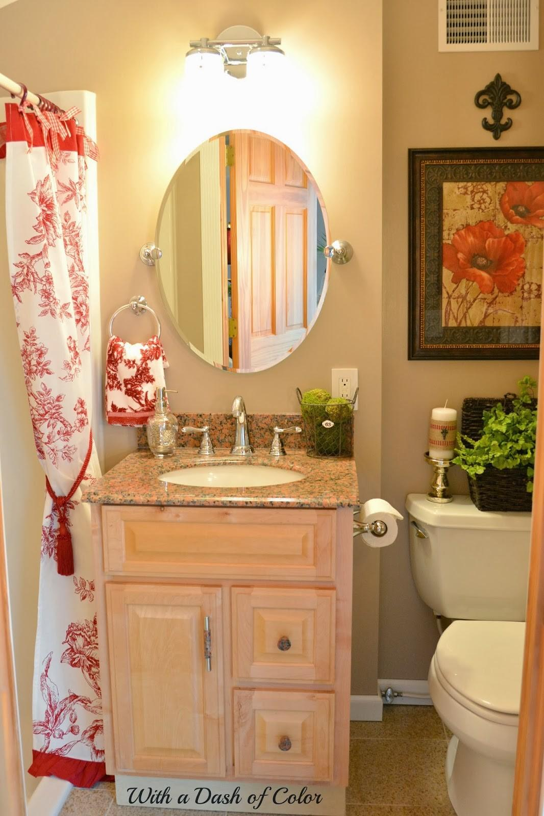 Dash Color French Country Bathroom