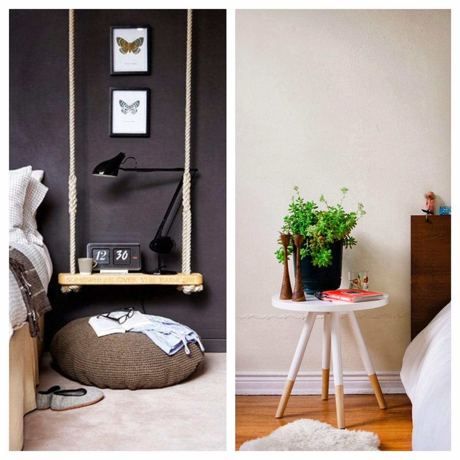 Dashing Diy Bedside Table Butterfly Wall