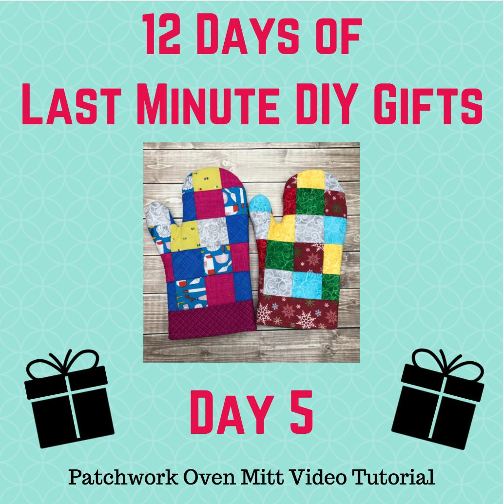 Day Days Last Minute Diy Gifts Video