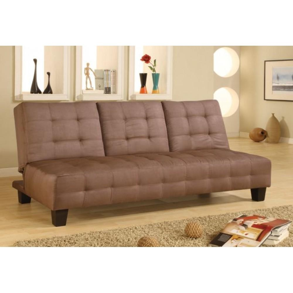 Daybeds Armless Convertible Sofa Bed Drop Down