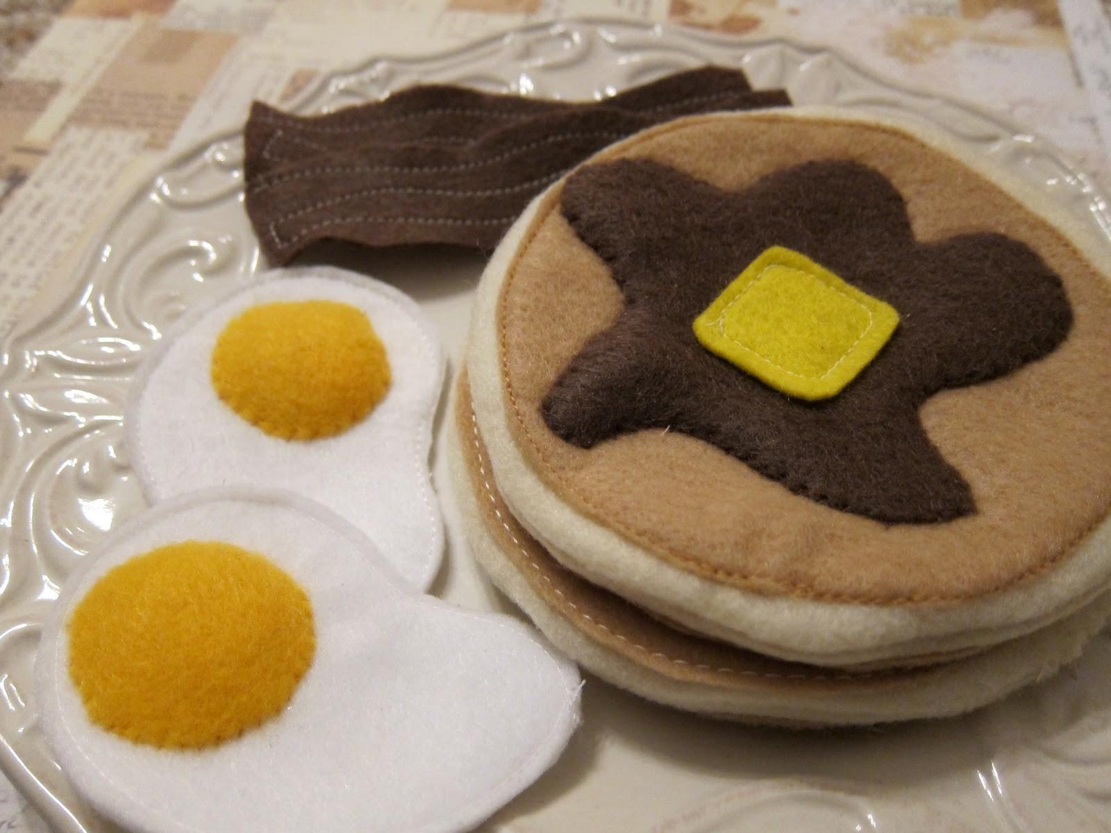 Days Gone Design Blog Diy Play Felt Food