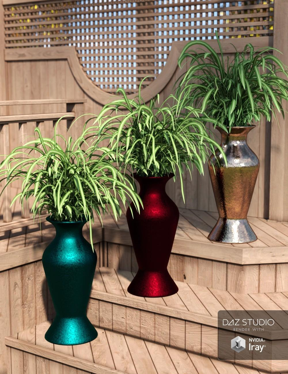 Daz Studio Decor Basics