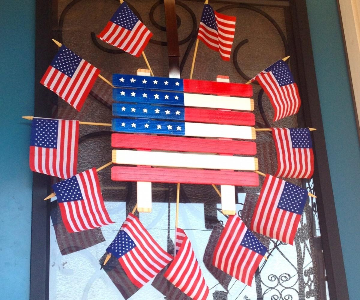 Dazzling Create Vintage Handmade Fourth July
