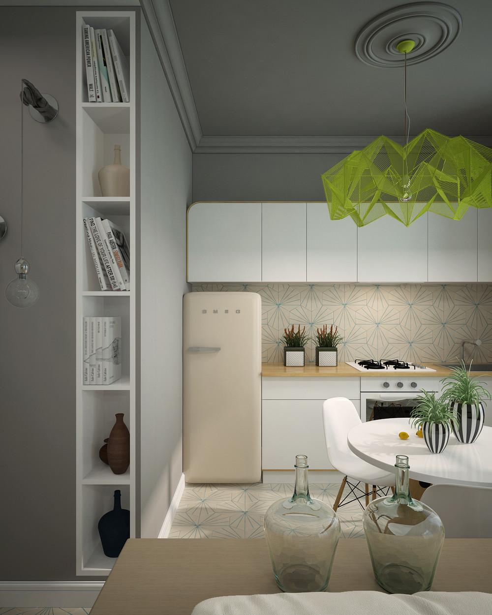 Dazzling Neon Accents Can Beautify Your Minimalist