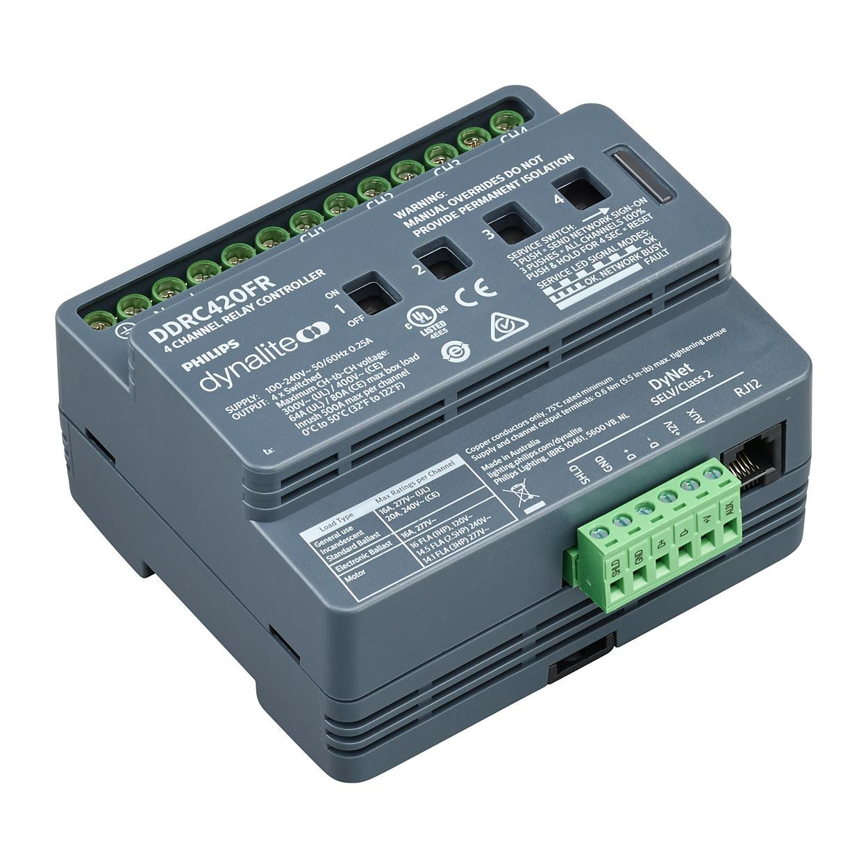 Ddrc420fr Dynalite Relay Controllers Philips Lighting