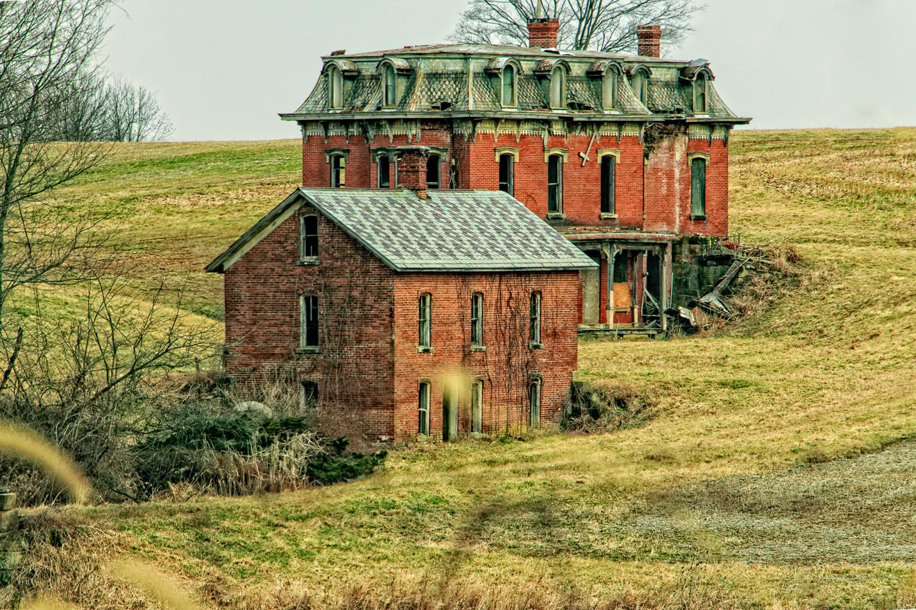 Death Mud House Mansion Unearthed Ohio