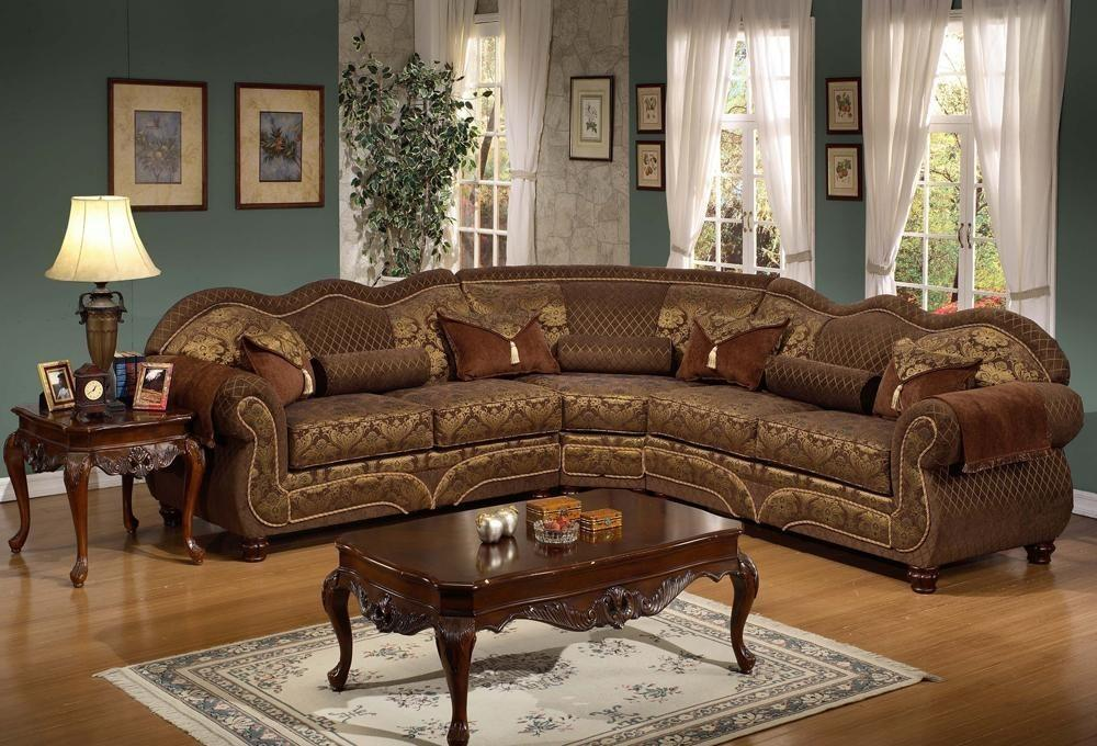 Deborah Traditional Sectional Sofa Style Plushemisphere