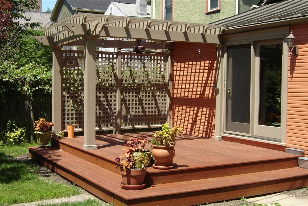 Deck Corner Pergola Design Ideas Champsbahrain Decoratorist