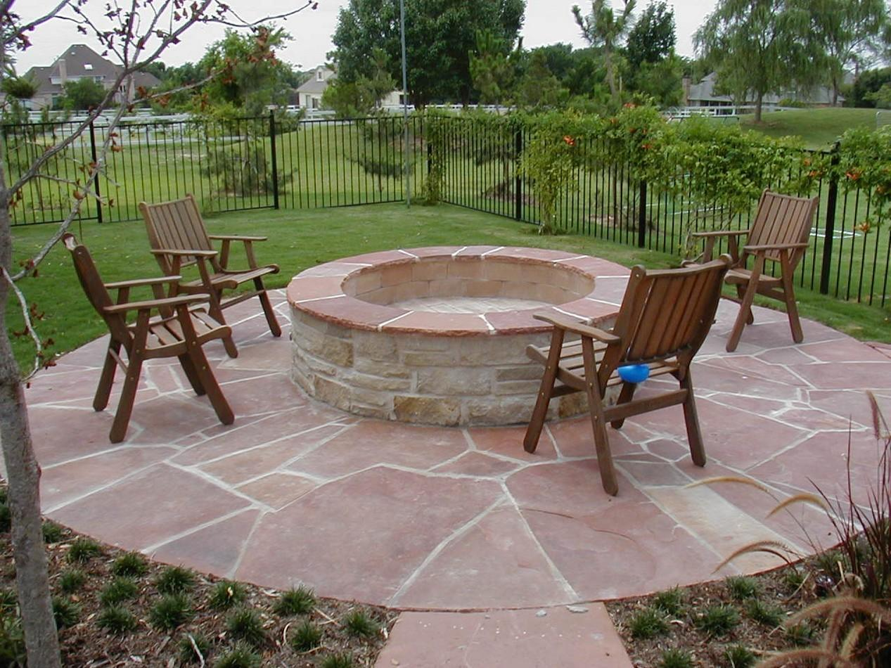 Deck Fire Pit Ideas Swimming Pool Designs Ground Above