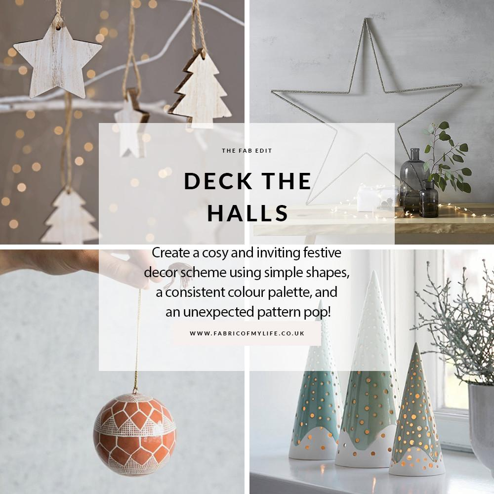 Deck Halls Contemporary Scandinavian Christmas