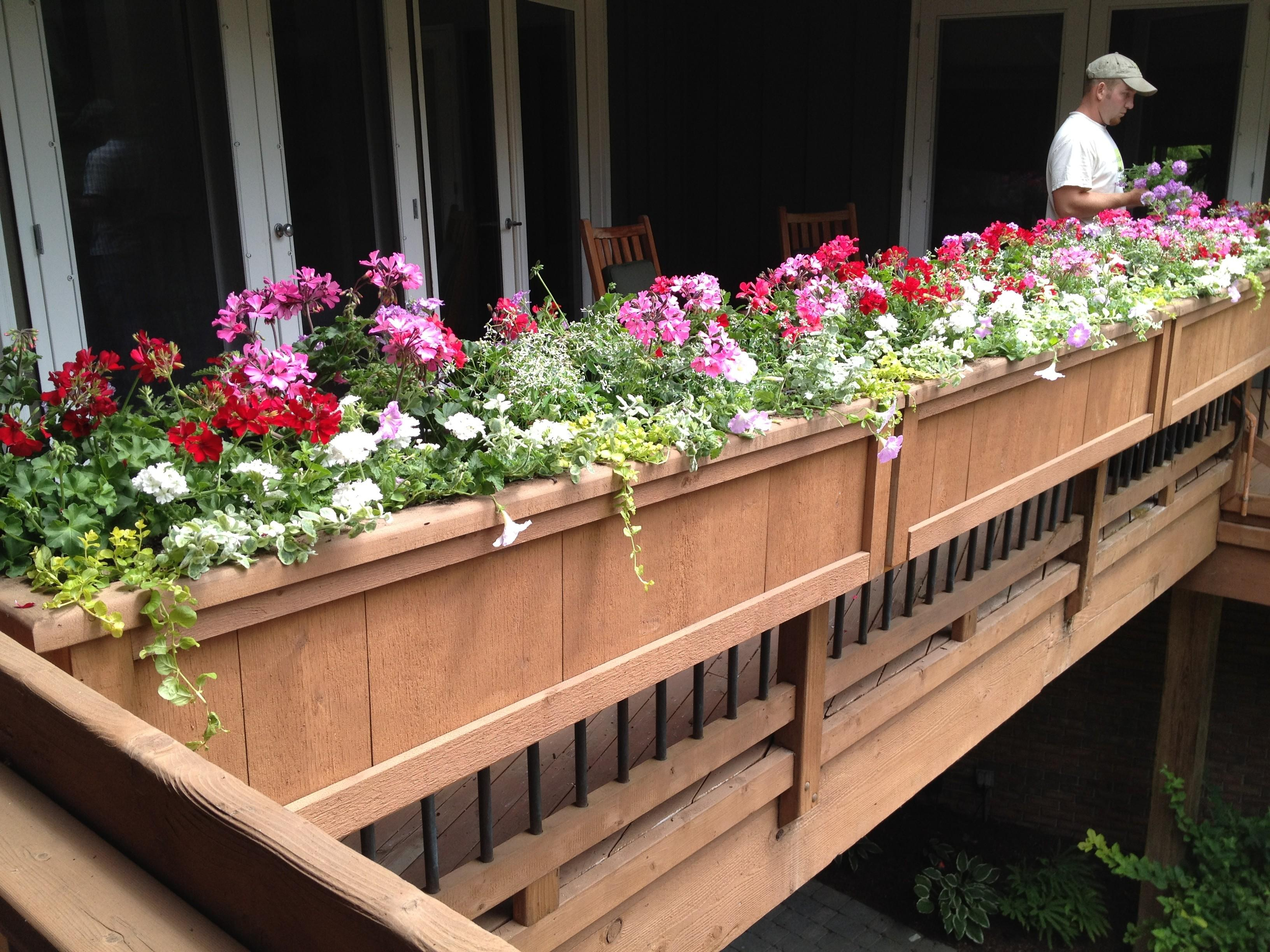 Deck Rail Planter Boxes Planters