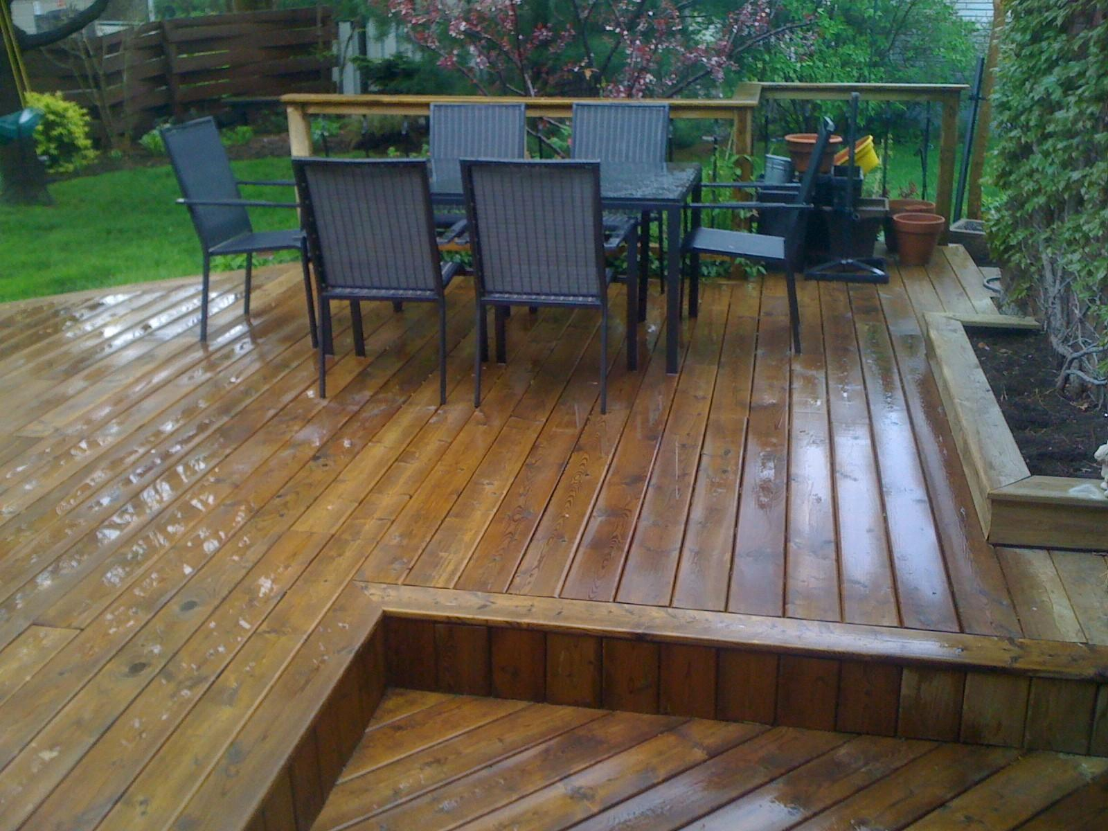 Deck Reclaimed Custom Carpentry Design Renovation