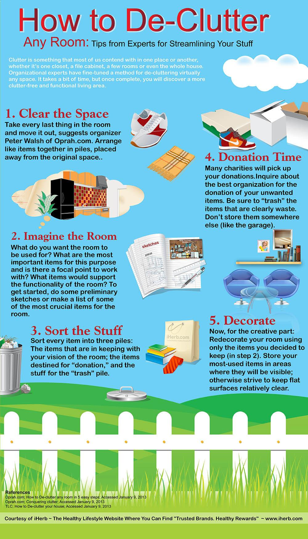 Declutter Your Home Revolved