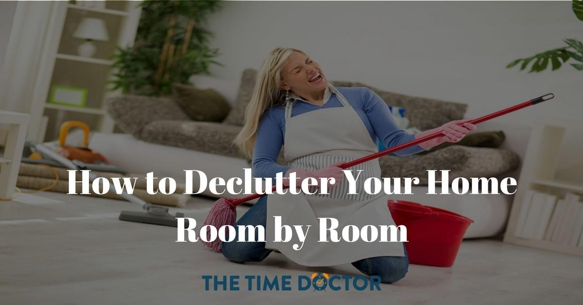 Declutter Your Home Room Everything Time